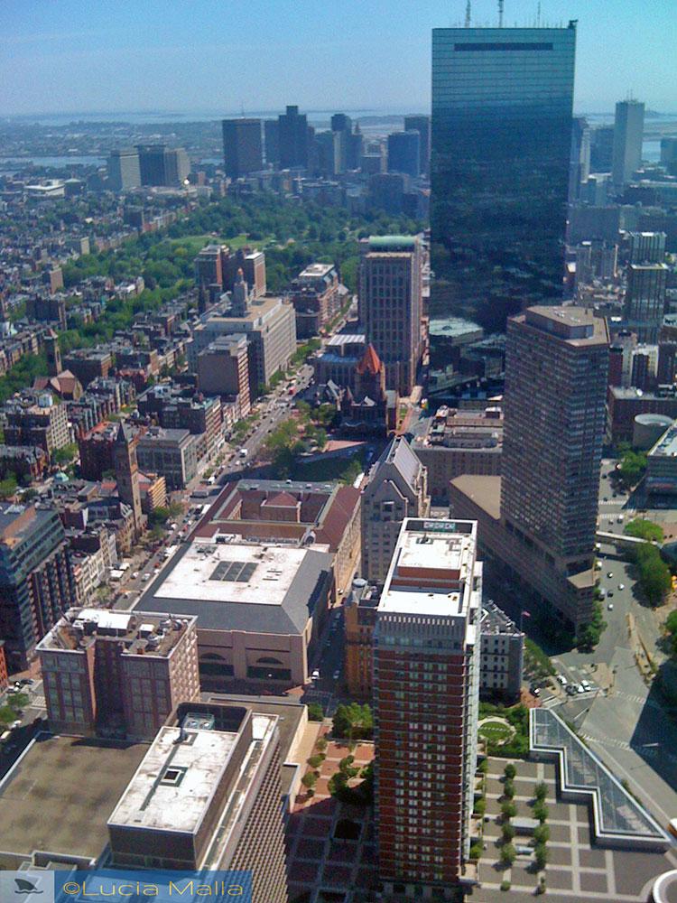 Boston vista de cima