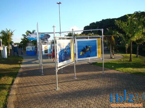 """Exposição """"Jardins Marinhos Tropicais"""" em Itápolis"""
