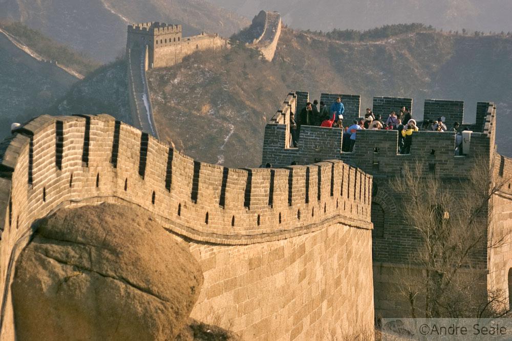 Outras com nada - Beijing - Muralha da China