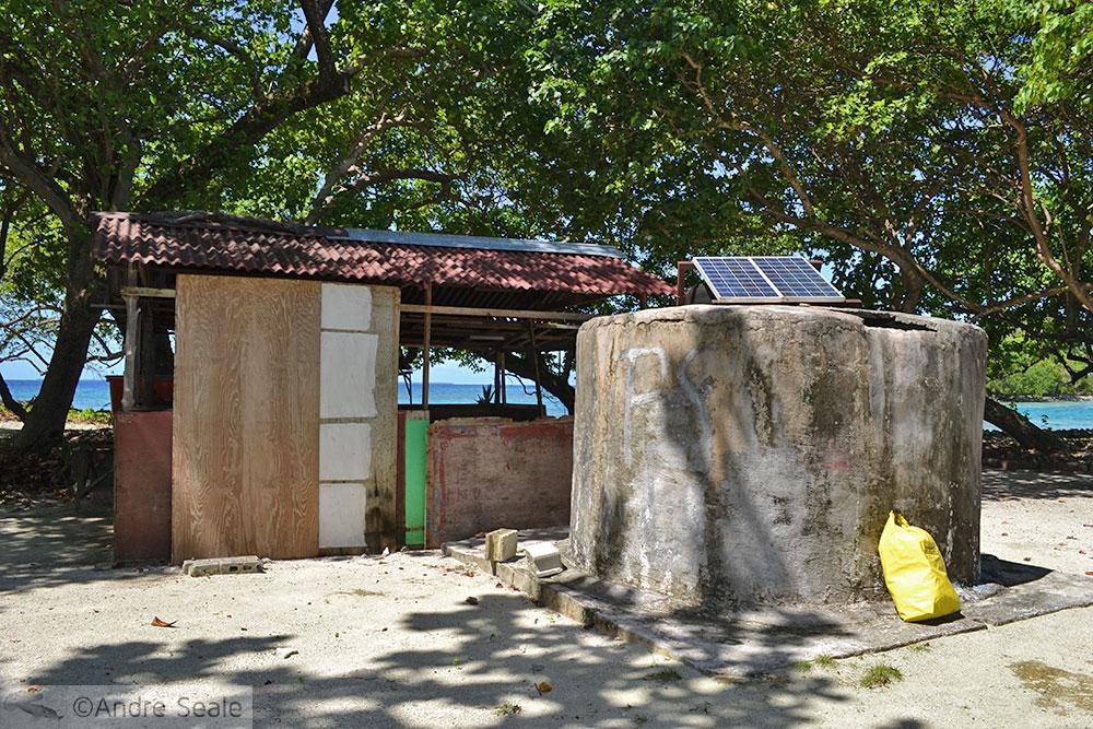 Cozinha do acampamento - Pohnpei - Micronésia
