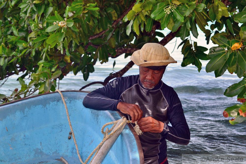 Barqueiro - Pohnpei - Micronésia