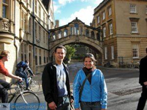 O incrível cidadão do mundo Ian em Oxford - Inglaterra