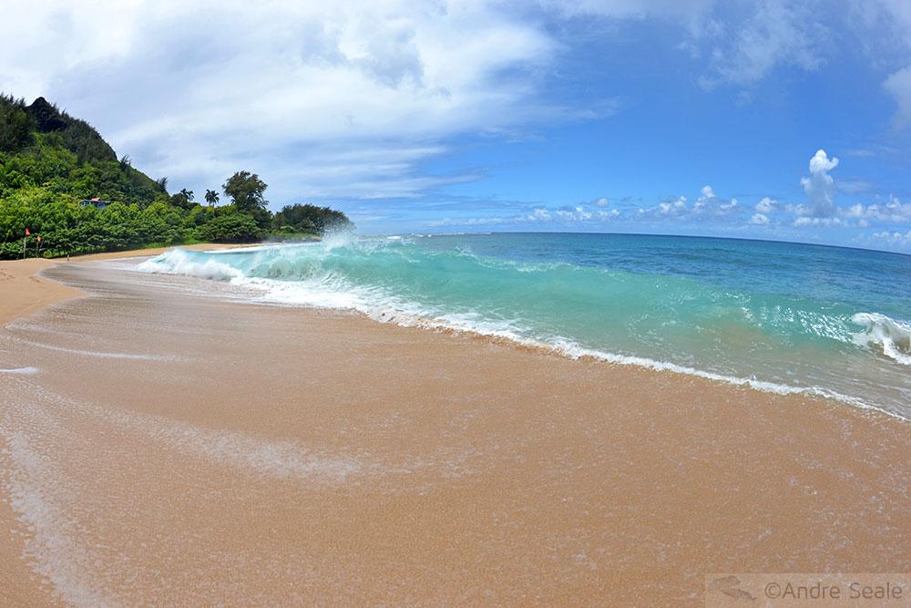 Minhas top 10 praias do Havaí - Haena Beach - Kauai