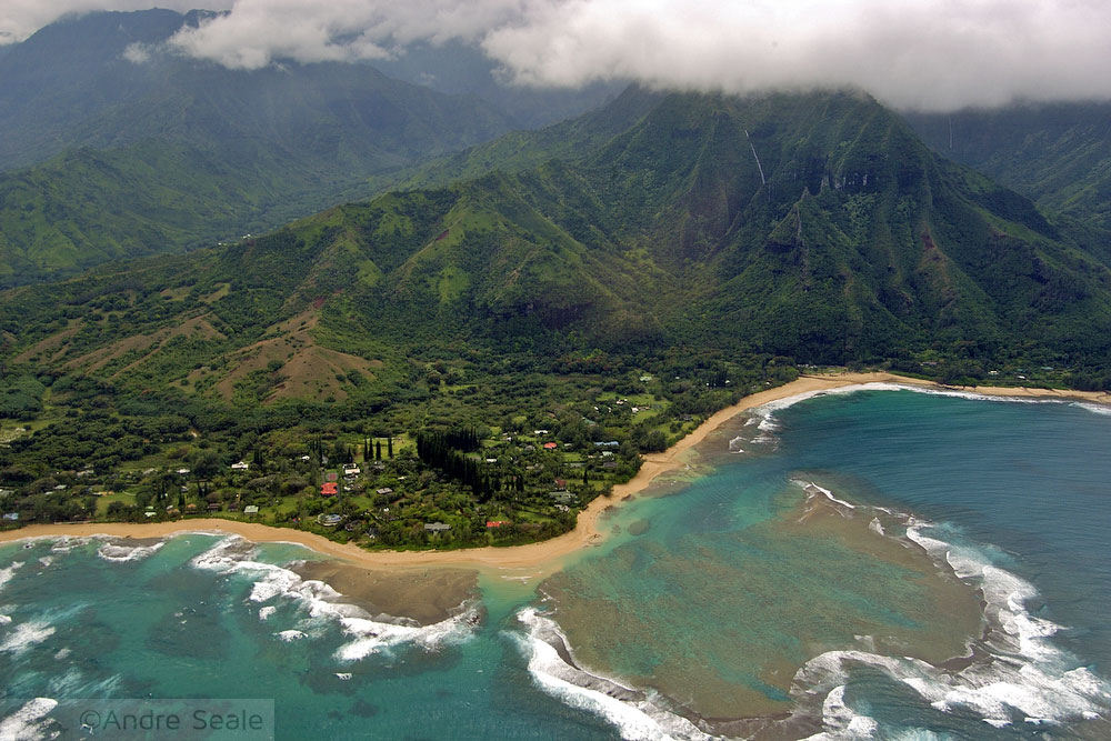 Tunnels Reef - North Shore do Kauai