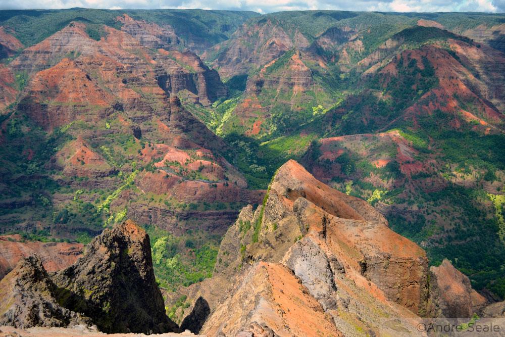 4 dias no Kauai - Waimea Canyon