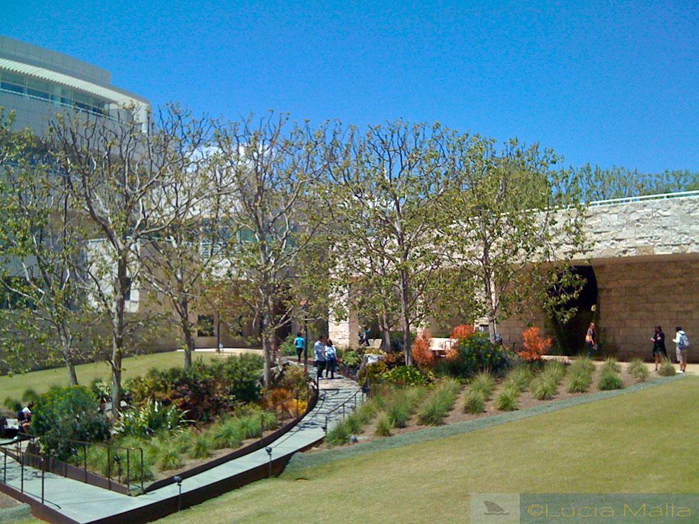 Jardim do Getty Museum - Los Angeles - EUA
