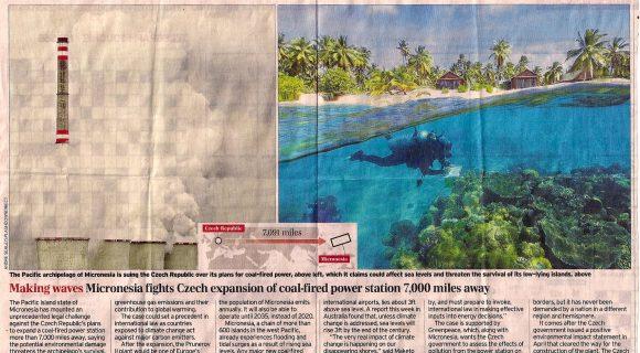 Coincidência na briga entre Micronésia e República Checa