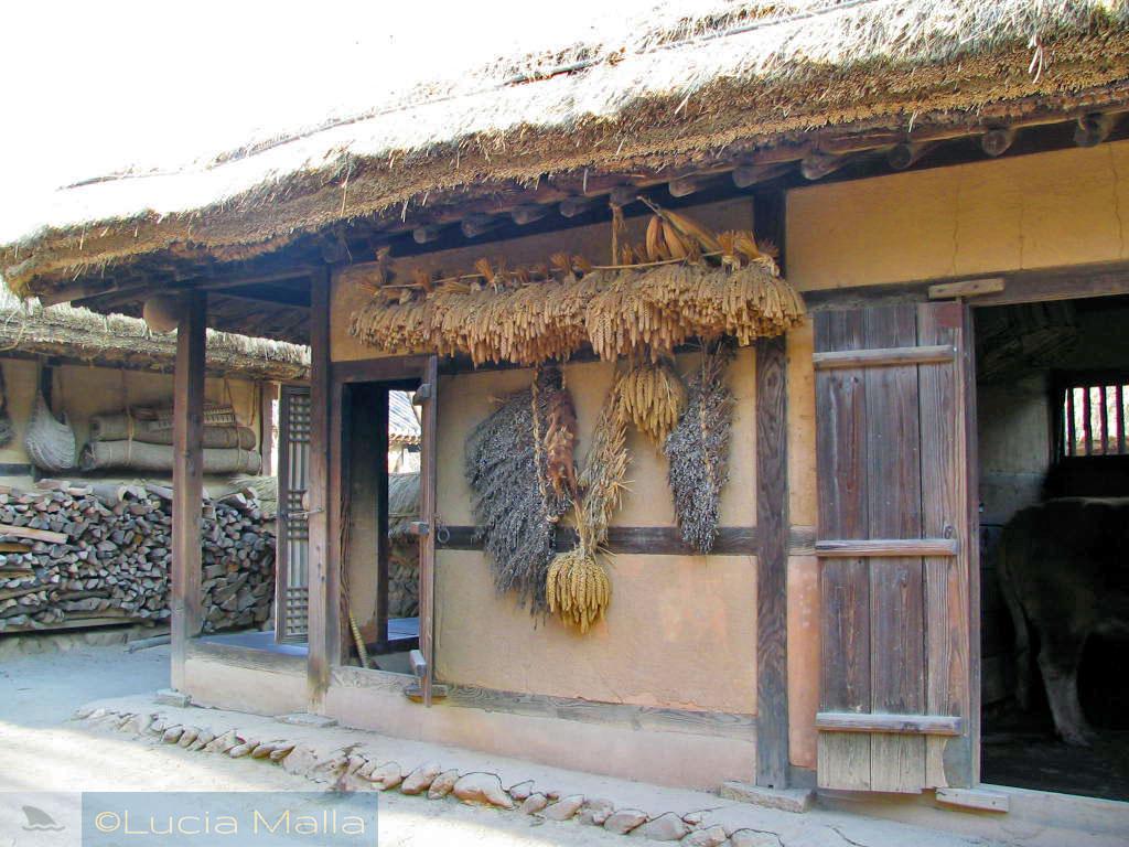 Casas tradicionais coreanas - Passeio pelo Korean Folk Village