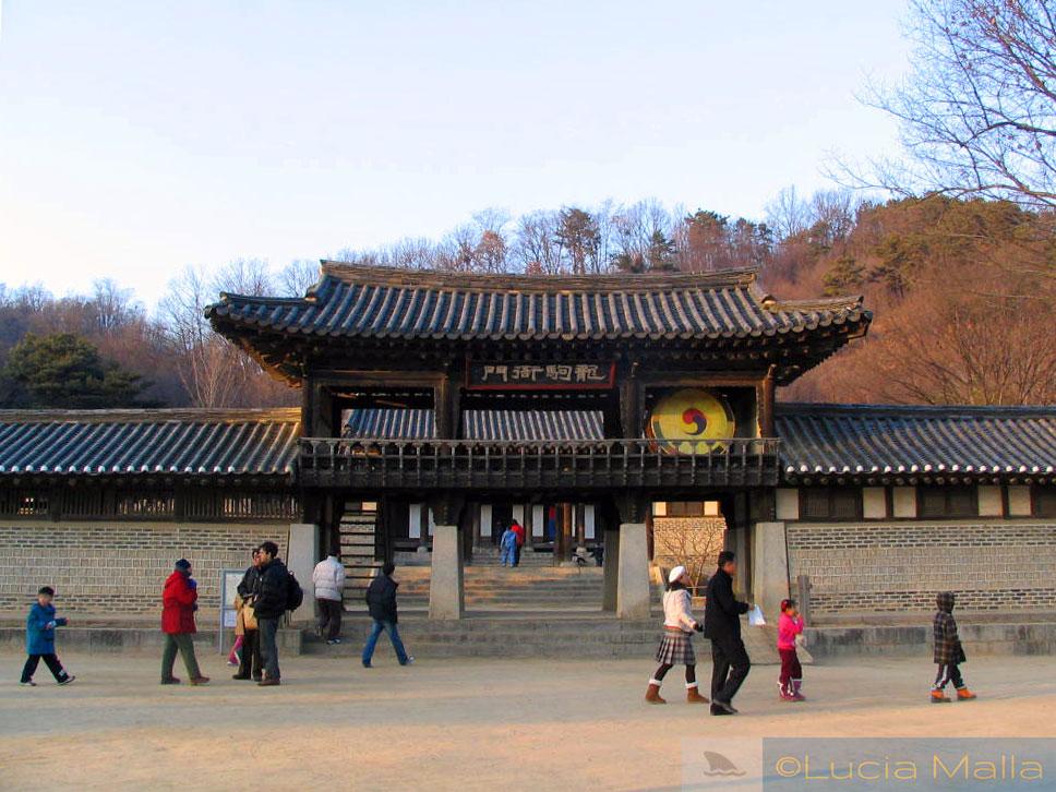 Passeio pelo Korean Folk Village - Suwon - Coréia do Sul