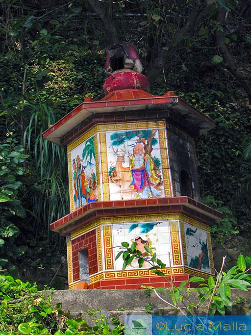 Templo e altar em Beitou - Taipei
