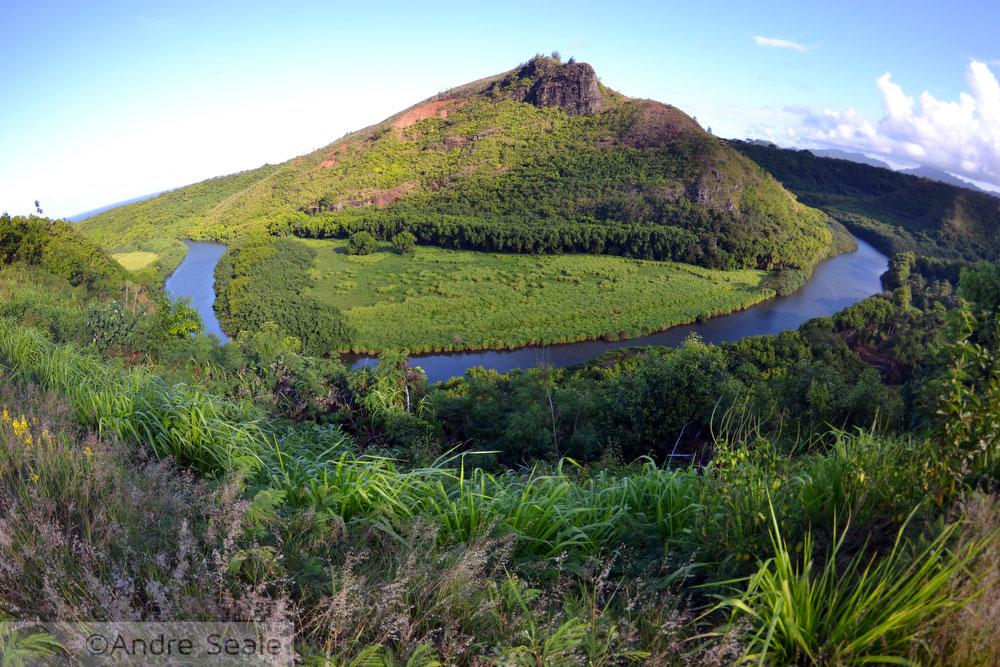 Rio Wailua - Havaí