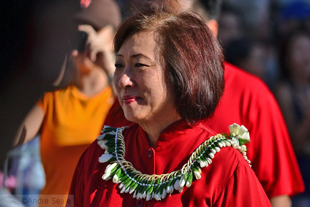 Senadora do estado do Havaí