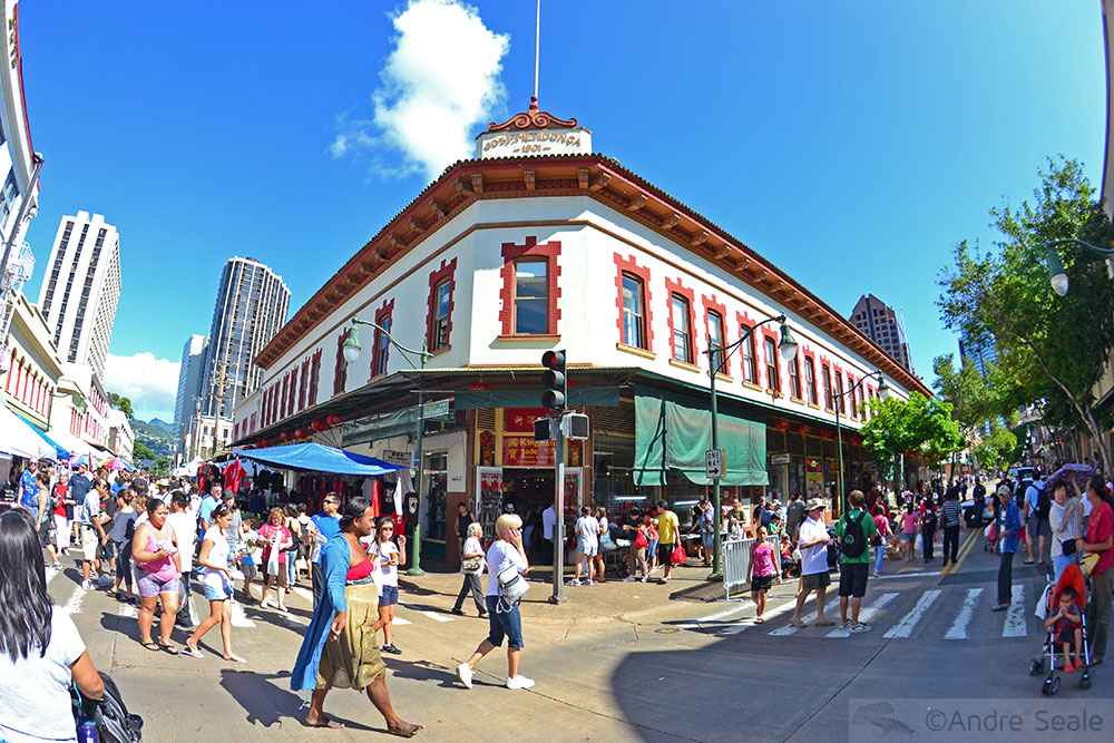 Chinatown - Honolulu - Havaí