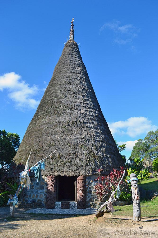 Centro Tjibaou - Case kanak - Noumea, Nova Caledônia