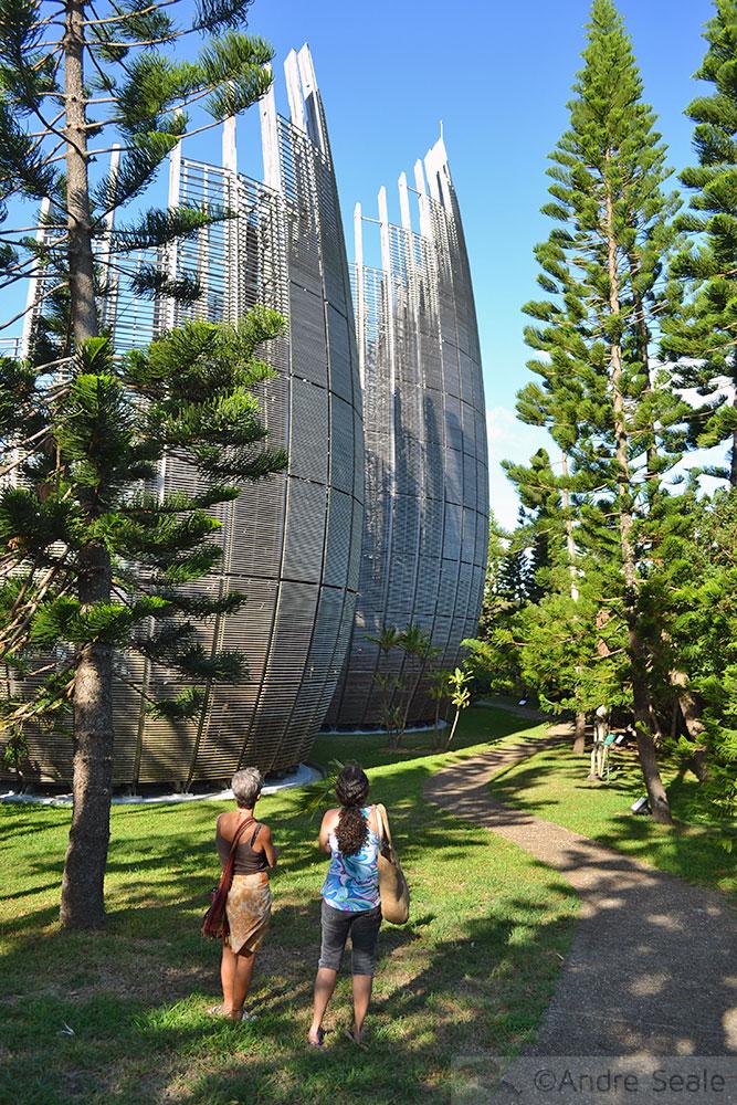 Centro Cultural Tjibaou - Noumea - Nova Caledônia
