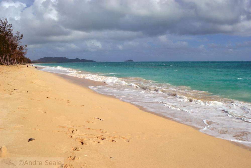 Praias havaianas - Waimanalo