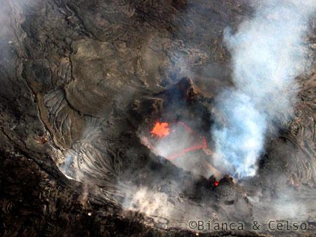 Viagem ao Hawaii - lava
