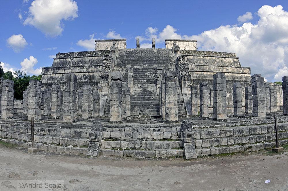 Visita ao Templo dos Guerreiros - Península de Yucatan - México