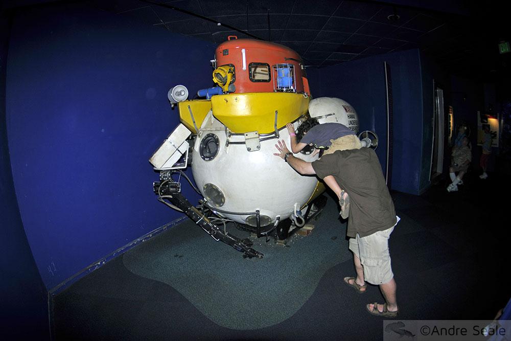 Submersível - Hawaii Undersea Research Lab - Maui