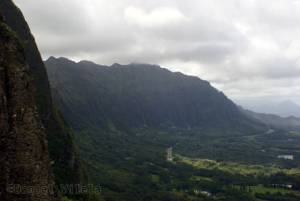 Vista do Pali Lookout - Oahu - Havaí