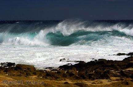 Viagem ao Havaí - ondas gigantes