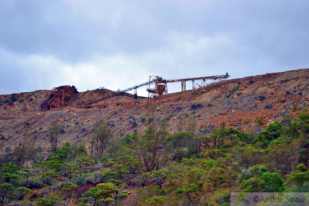 Roteiro Na costa do níquel - Nova Caledônia