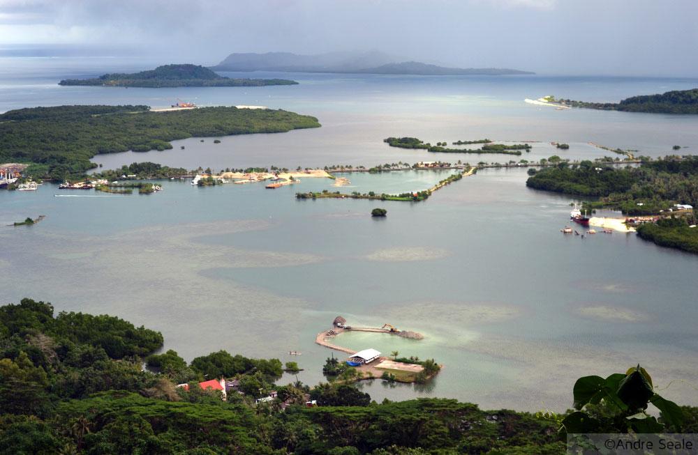 Baía de kolonia - Pohnpei - Estados Federados da Micronésia