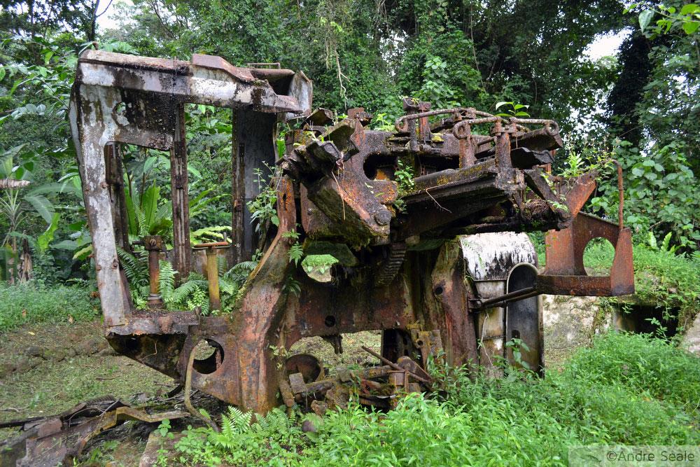 Relíquias de artilharia japonesa - Pohnpei - Micronésia