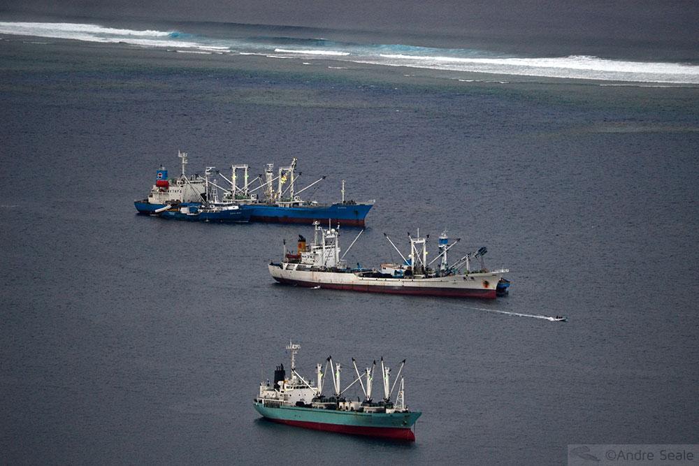 Navios de pesca industrial - Micronésia