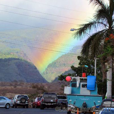 Arco-íris - Havaí da Lucia