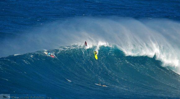 Jaws, ontem o surfe