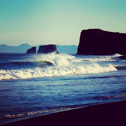 Era dos redescobrimentos - surfe na Costa do Kamchatka