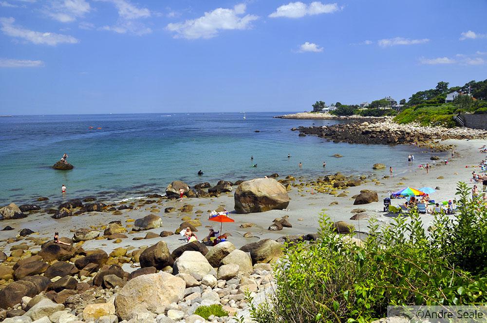 Praia em Rockport - Massachusetts