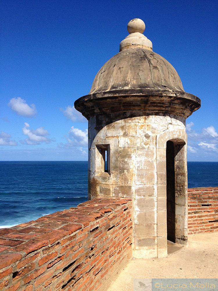 Torre da fortaleza San Juan