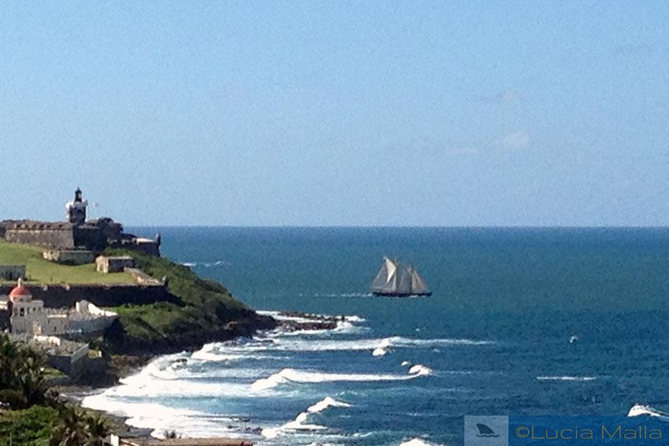 Caravela em San Juan - Porto Rico