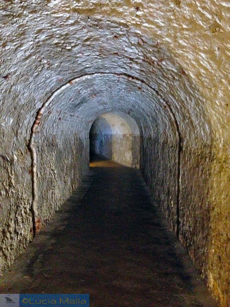 Túnel - fortaleza San Juan