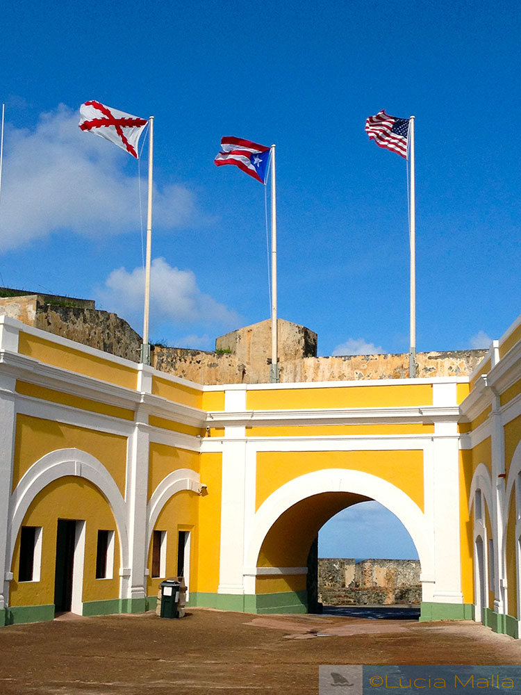 Bandeiras - El Morro - San Juan - Porto Rico