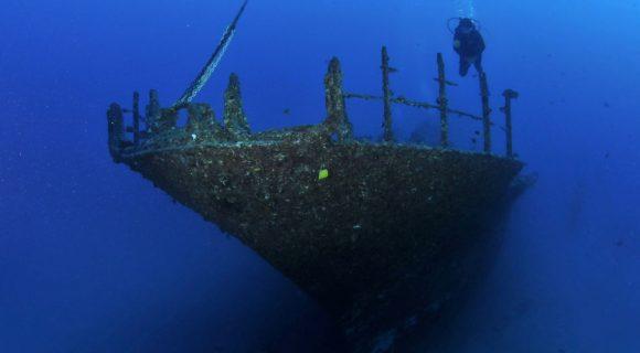 Sexta Sub: Mergulho no naufrágio Sea Tiger em Honolulu