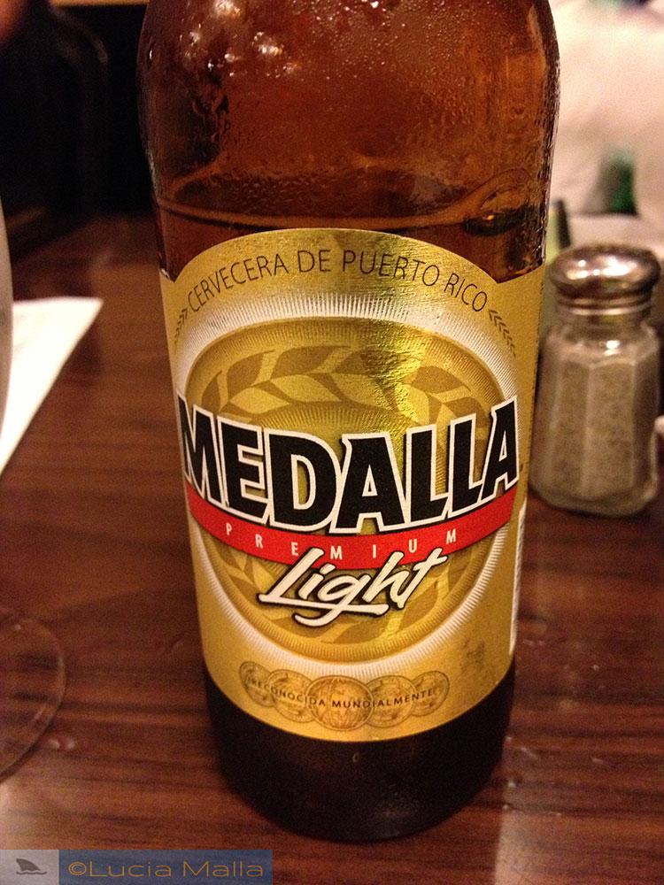 Cerveja Medalla - Porto Rico