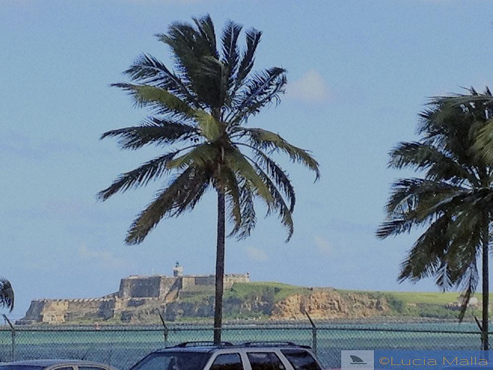 Vista da fortaleza de San Juan
