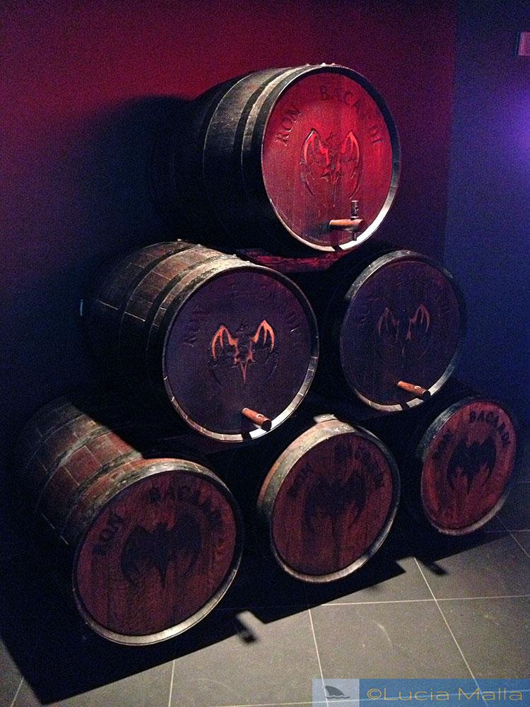 capitla mundial do rum - barris de rum