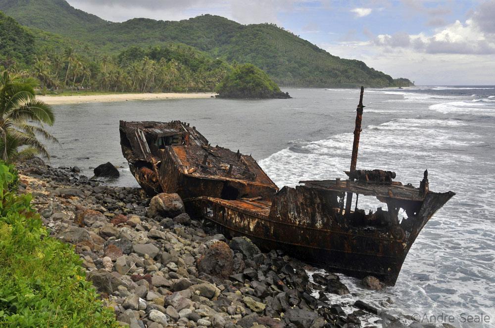 Baía em Laulii - Samoa Americana - Roteiro por Tutuila