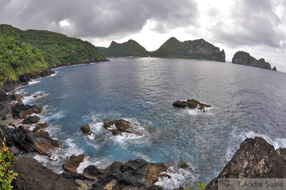 Vaiava - Baía de Vatia - Samoa Americana