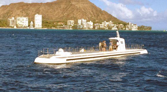 Sexta Sub: passeio de submarino em Waikiki