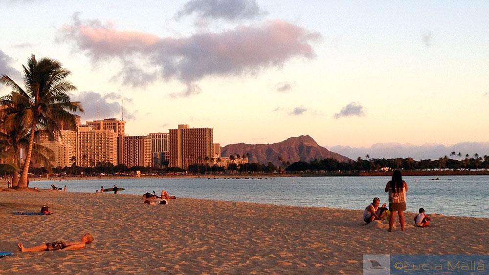 Dois dias em Oahu - Havaí - Waikiki Beach