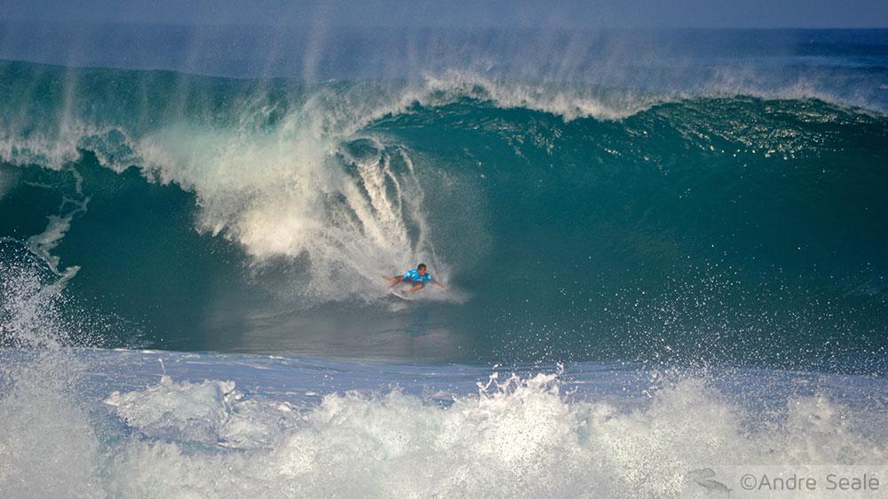 Dois dias em Oahu - surfe em Pipeline
