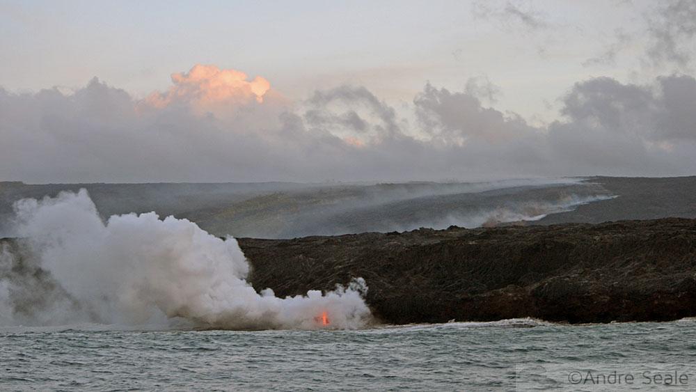 Lava de barco - Big Island