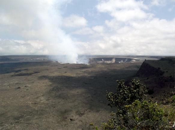 Cratera do vulcão Kilauea - Big Island - Havaí