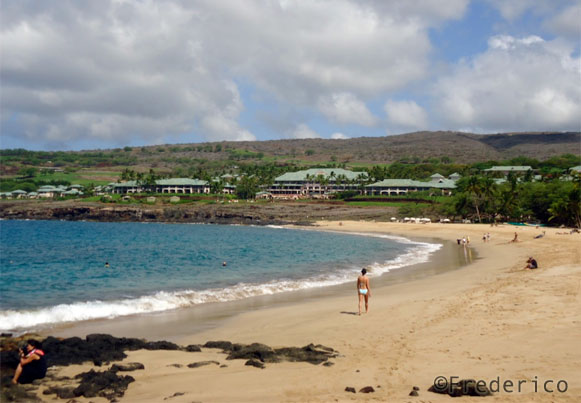 Praia de Manele - Lanai - Havaí
