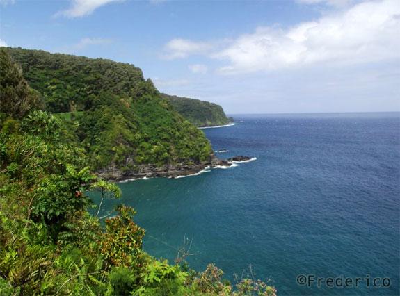 Estrada para Hana - Maui - viagem ao Havaí